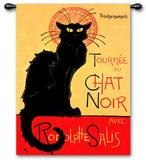 Tournee Chat Noir タペストリー : テオフィル・アレクサンドル・スタンラン