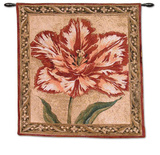 Tulip Unveiled II Wall Tapestry by Elizabeth Jardine