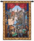 Venice Wall Tapestry by Vladimir Strooser