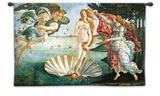 Nacimiento de Venus, violeta Tapiz por Sandro Botticelli