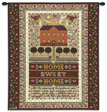 Home Sweet Home Wall Tapestry by Charles Wysocki