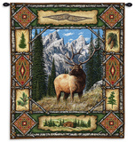Elk Lodge Wall Tapestry