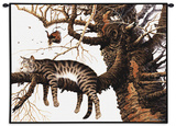 Too Pooped to Participate Wall Tapestry by Charles Wysocki