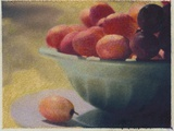 Bowl of Grapes Photographic Print by Jennifer Kennard