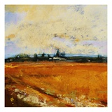 Summer Field Giclee Print by Lou Wall