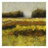 View from Dale Farm Giclee Print by Lou Wall