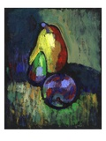 Pear, Fig, and Plum Giclee Print by Robert McIntosh