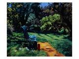 Respite: Renoir's Garden Giclee Print by Anne Belov