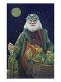 Father Christmas Giclee Print by Kirsten Soderlind