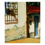 Florentine Door Giclee Print by Anne Belov