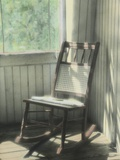 Claussen Inn Rocking Chair Photographic Print by Kim Koza