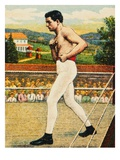 "Cigarette Card Depicting Charles ""Kid"" McCoy Giclee Print"