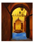 Florentine Fountain Giclee Print by Pam Ingalls
