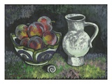 Purple Plums Lmina gicle por Robert McIntosh