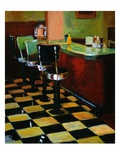 Malt Shop in Sequim Giclee Print by Pam Ingalls