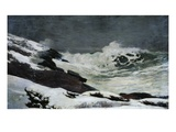 Winter Coast Giclee Print by Winslow Homer