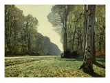 The Path of Chailly Giclee Print by Claude Monet