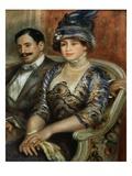 Mr. and Mrs. Bernheim de Villers Giclee Print by Pierre-Auguste Renoir