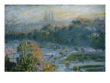 The Tullerias Giclee Print by Claude Monet