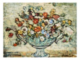 Floral Still Life Giclee Print by Maurice Brazil Prendergast