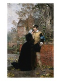 Farewell Mother Giclee Print by Karl Heinrich Hoff