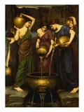 Danaids Giclee Print by John William Waterhouse