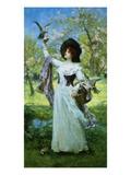 Spring Giclee Print by Henrietta Rae
