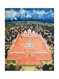 The Great Mosque, Delhi Giclee Print