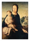 The Madonna and Child in a Landscape Giclée-tryk af Mariotto Albertinelli