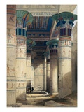 Illustration from a Collection Entitled The Holy Land, Syria, Idumea, Arabia, Egypt & Nubia Giclee Print by David Roberts