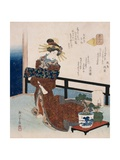 Flower of the Capital Giclee Print by  Shigenobu II