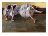 Dancers by Edgar Degas Giclee Print by Geoffrey Clements