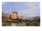 Angera, Lake Maggiore Giclee Print by George Clarkson Stanfield