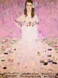 Girl in White Giclée-tryk af Gustav Klimt