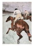 Le Jockey Giclee Print by Henri de Toulouse-Lautrec