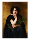 Reflection Giclee Print by William Adolphe Bouguereau