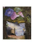 In the Hut There Was Only a Bed the Sunbeam Stole in to Kiss Him Giclee Print by Eleanor Vere Boyle