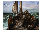 Workers of the Sea Giclee Print by Edouard Manet