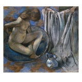 Woman in the Tub Giclee Print by Edgar Degas