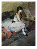Dancer at Rest Giclee Print by Edgar Degas