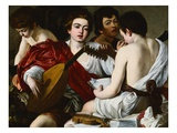 Allegory of Music Giclee Print by  Caravaggio