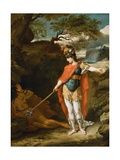 Perseus and Medusa Attributed to Benjamin West Giclee Print
