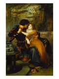 Paolo and Francesca Giclee Print by Charles Edward Halle