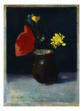Jug of Flowers Giclee Print by Odilon Redon