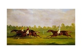 The Doncaster Gold Cup of 1835 Giclee Print by Charles Towne