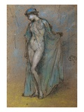Female Nude with Diaphanous Gown Giclee Print by James Abbott McNeill Whistler