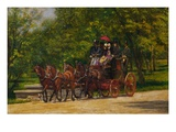 The Fairman Rogers Four-in-Hand Giclee Print by Thomas Eakins