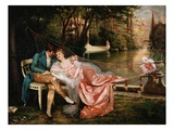 Flirtation Giclee Print by Joseph Frederic Charles Soulacroix