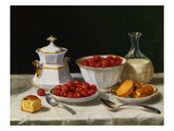The Dessert Table Giclee Print by John F. Francis