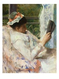 The Reader (Lydia Cassatt) Giclee Print by Mary Cassatt